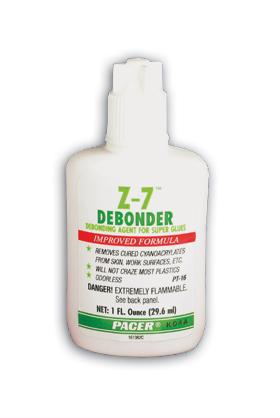 Pacer Glues 1oz. Z-7 Debonder