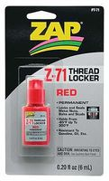 Pacer Red Thread Locker .20 oz Thread Locking Compound #pt71