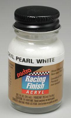Pactra R/C Acrylic Pearl White 1 oz Hobby and Model Acrylic Paint #rc5201