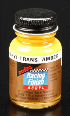 Pactra R/C Acrylic Transparent Amber 1 oz Hobby and Model Acrylic Paint #rc5314