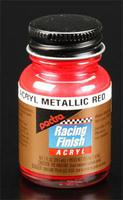 Pactra R/C Acrylic Metallic Red 1 oz Hobby and Model Acrylic Paint #rc5504