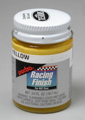 Pactra 2/3oz. Bottle R/C Racing Finish Bright Yellow  (D)