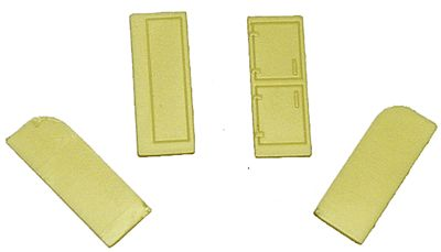 Palace Locker & Refrigerator (2 Each) HO Scale Miscellaneous Train Part #5136