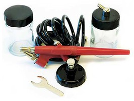 Paasche Beginners Single Action Airbrush Kit (Ez-Starter)