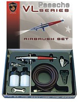 Paasche VL Series Siphon Feed Double Action Airbrush Set w/.73mm Head (VL-3AS)