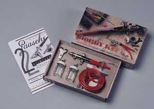 Paasche Airbrush Comp. H Single Action Hobby Kit -- Airbrush and Airbrush Set -- #2000h