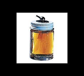 Paasche 1oz. Glass Bottle Assembly (29cc) (VFA-1oz) Airbrush Accessory #9501