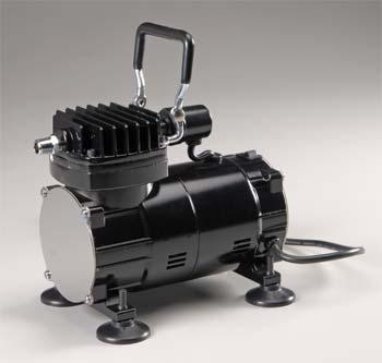 Paasche Airbrush Comp. Compressor w/Regulator & Moisture Trap -- Airbrush Compressor -- #da300r