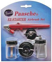 Paasche Single Action Airbrush Kit Beginners Airbrush and Airbrush Set #ez-starter
