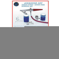 Paasche Airbrush Set w/H Brush Heavy Duty (H-SET) Airbrush and Airbrush Set #h-set