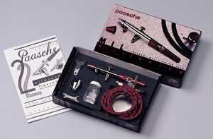 Paasche Airbrush Comp. Millenium Double Action Airbrush -- Airbrush and Airbrush Set -- #mil-set