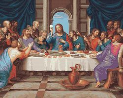 Plaid The Last Supper Paint by Number (20x16) Paint By Number Kit #22038