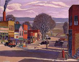 Plaid Parkville Main Street Paint By Number Kit #22077