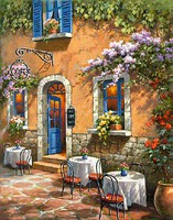 French Country Cafe (16''x20'') Paint By Number Kit #26748