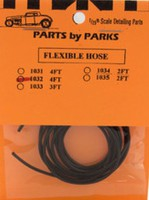 Parts-By-Parks 1/25 4 ft. Hollow/Flexible 1-1/2 Rubber Hose