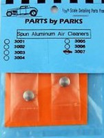 Parts-By-Parks 1/25 Air Cleaner 5/16 x 5/32 (Spun Aluminum) (2)