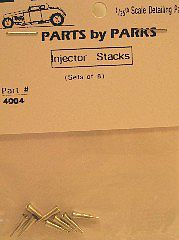 Parts by Parks 1//24-1//25 Hilborn Style Injector Stacks  4008 x