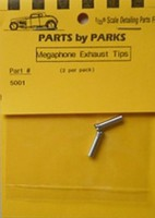 Parts-By-Parks 1/25 Exhaust Tip (Spun Aluminum)