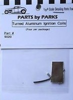 Parts-By-Parks 1/25 Ignition Coils (Satin Finish) (3)