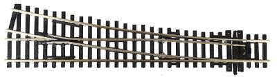 Peco Code 100 Medium Radius Turnout Right Hand Electrofrog -- Model Train Track -- HO Scale -- #1905