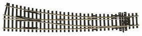 Peco Code 100 Curved Double Radius Turnout Right Hand Model Train Track HO Scale #1910