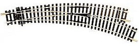 Peco Code 100 Curved Double Radius Turnout Right Hand Insulfrog Model Train Track HO Scale #244