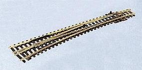 Peco Code 55 Medium Radius Curved Turnout Left Hand Model Train Track N Scale #388