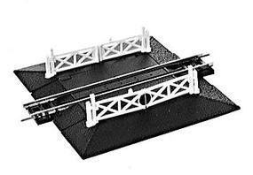 Peco Crossing w/Gates Model Train Track N Scale #57