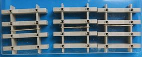 Peco Peco Individulay Components Concrete Sleepers (Ties) Model Train Track O Scale #715