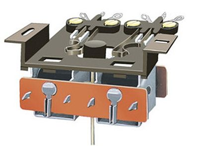 Peco PL 15 Twin Micro Switch Kit for PL10 -- Model Railroad Electrical Accessory -- #pl15