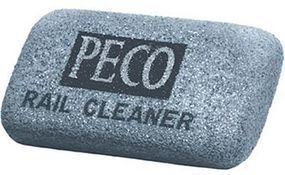 Peco Rail Cleaner Abrasive Rubber Block Model Train Accessory #pl41