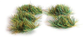 Peco 4mm/3''16'' Self Adhesive Grass Tufts,Assorted (100)