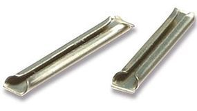 Peco 100 Nickel Silver Rail Joiners 24pk Model Train Track HO Scale #sl10