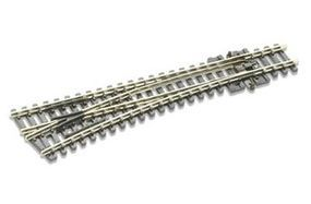 Peco Code 80 Medium Left Hand Turnout (18 Radius) Model Train Track N Scale #sl396