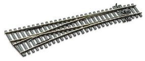 Peco Code 75 Medium Left Hand Turnout w/Electrified Frog Model Train Track HO Scale #sle196