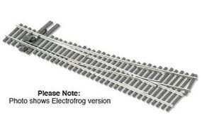 Peco Streamline Code 83 #5 Electrofrog Turnout Left Hand Model Train Track HO Scale #sle8352