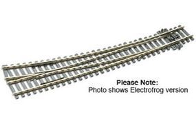 Peco HO Code 100 Curved Right Hand Turnout Model Train Track HO Scale #sle86