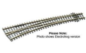 Peco HO Code 100 Curved Left Hand Turnout Model Train Track HO Scale #sle87