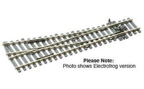 Peco Code 100 Small Right Hand Turnout w/Electrified Frog Model Train Track HO Scale #sle91
