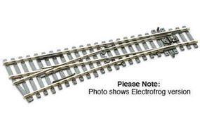 Peco Code 100 Small Left Hand Turnout w/Electrified Frog Model Train Track HO Scale #sle92