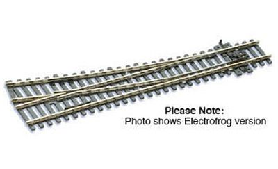 Peco Code 100 Medium Right Hand Turnout w/Electrified Frog Model Train Track HO Scale #sle95