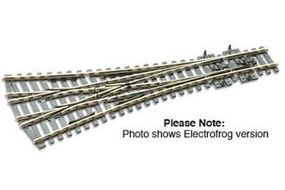 Peco Code 100 Medium 3 Way Turnout w/Electrified Frog Model Train Track HO Scale #sle99