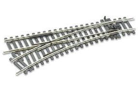 Peco Code 100 Setrack Straight Left Hand Turnout Model Train Track HO Scale #st241