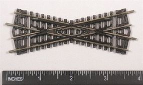 Peco Code 80 Setrack Short Crossing (25 Angle) Model Train Track N Scale #st7