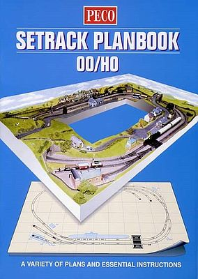 Peco Peco Track Planning -- Model Railroading Book -- #stp00