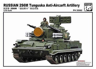 Panda Tunguska 2S6M Anti-Aircraft Artillery Tank Plastic Model Tank Kit 1/35 #35002