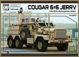 Panda Cougar 6x6 JERRV (Joint EOD Rapid Response Vehicle) Military Vehicle Kit 1/35 Scale #35010