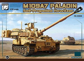 Panda 1/35 M109A7 Paladin Self-Propelled Howitzer (New Tool)