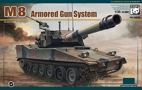 Panda 1/35 M8 Armored Gun System Light Army Tank