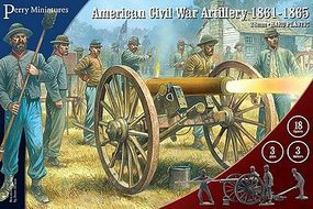 Perry American Civil War Artillery 1861-65 Plastic Model Military Figure 28mm #105